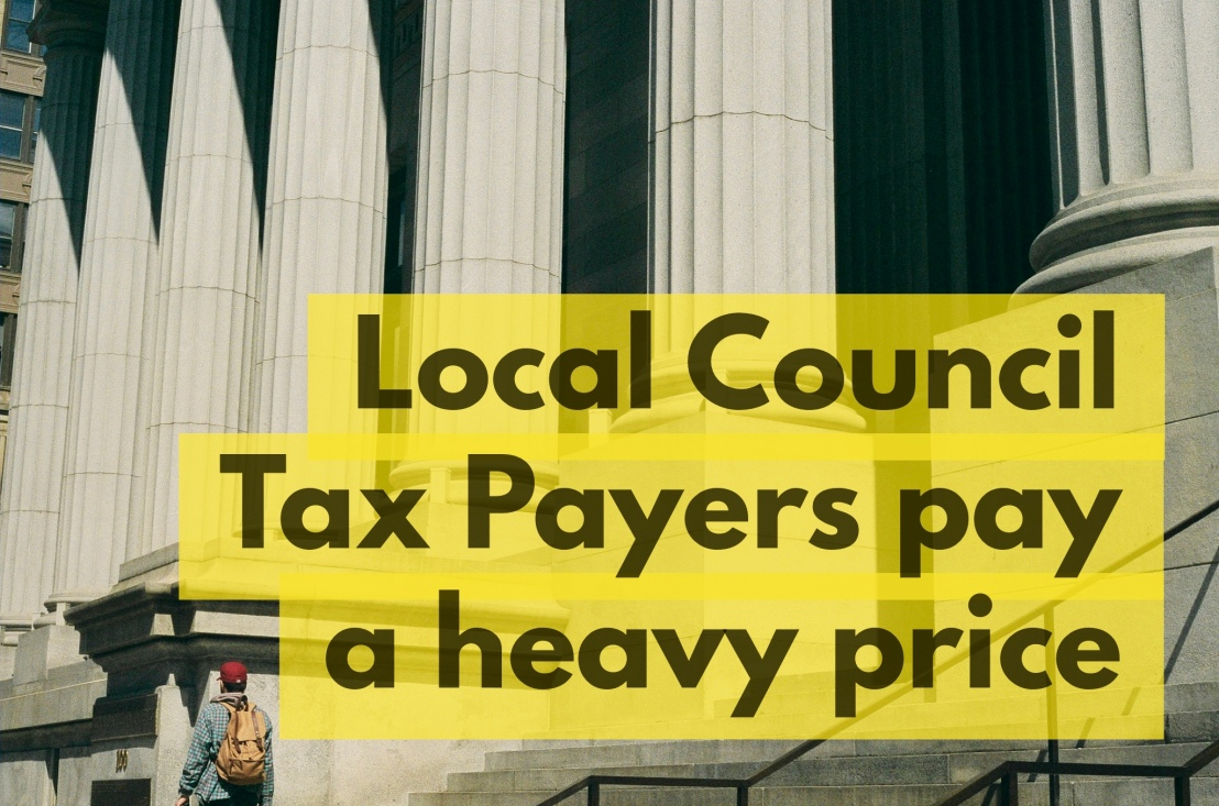 Bourne Council Tax Payers Stung by 51.5% above InflationRise
