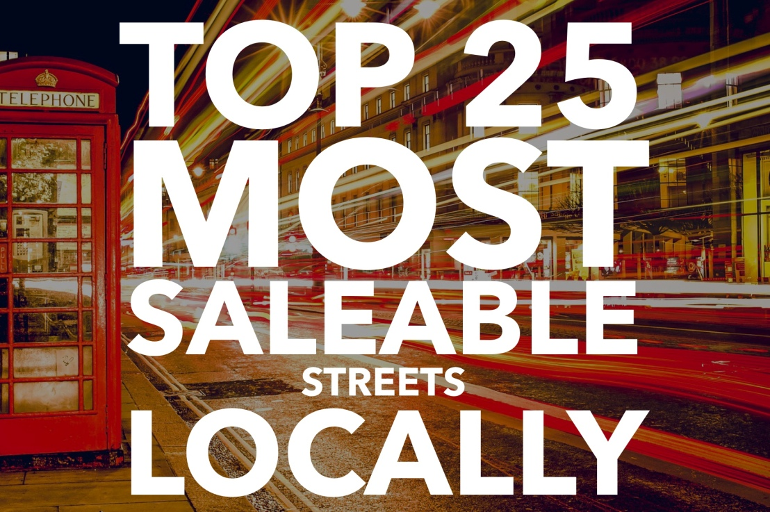 Top 25 Most Saleable Streets in Bourne